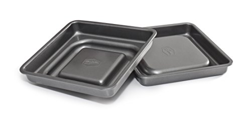 mrs-fields-bakeware-fill-n-flip-9-inch-locking-layer-cake-set-square-gray