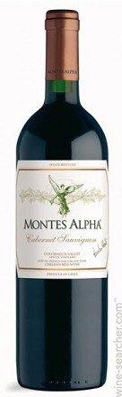 2010 Montes Alpha Cabernet Sauvignon 750 Ml