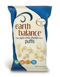 Vegan White Cheddar Puffs 4 Ounces (Case of 12)