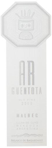2010 Ar Guentota Argentina Malbec 750 Ml