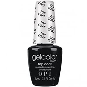 OPI Gelcolor Collection Nail Gel Lacquer, Top Coat, 0.5 Fluid Ounce