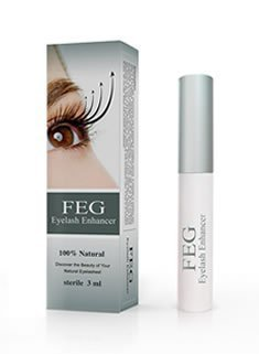 FEG Eyelash Eye Lash Eyebrow Brow Enhancer Enhancing Lengthening Serum For Long, Thick, Soft, Darker, Natural Eyelashes Lashes