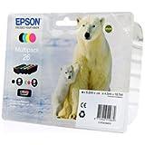Epson Expression Premium XP-710 - Original Epson C13T26164010 / T2616 - Cartouche d'encre Multipack (C,M,Y,K) 4 pieces -