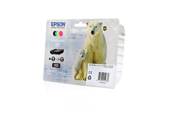 Austerity d'Encre Set Epson Expression Premium XP - 620 (remplacé) d'encre Epson C13T26164010 Austerity-Ensemble de séries, CMYK Lot de 4