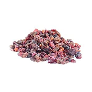 Goji Berry - Cherry - Blueberry - Cranberry - Raisin Dried Fruit Mix by Gerbs - 2LB. Deal. Certified Top 10 Allergen Free - So2 & Potassium Sorbate Free