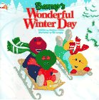 """From sleigh rides to snowmen, join Barney, BJ and Baby Bop as they discover the joys of winter play in """"Barney's Wonderful Winter Day"""". Full color Ages 1-4. Pub: 10/97. ."""