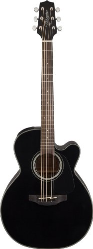 Takamine Gn30Ce-Blk Nex Cutaway Acoustic-Electric Guitar, Black