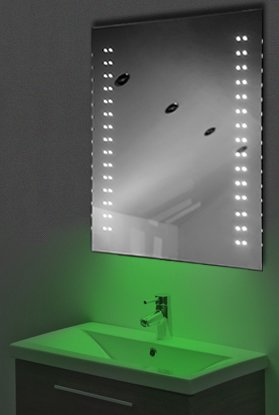 Ambient Shaver Led Bathroom Illuminated Mirror With Demister Pad & Sensor K13Sg