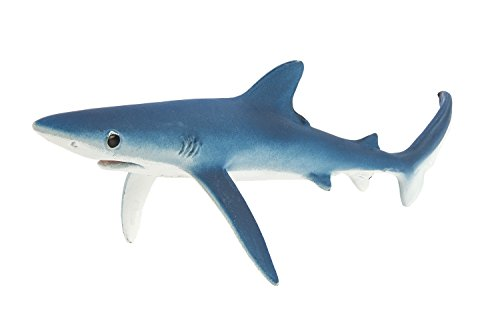 Safari Ltd Monterey Bay Aquarium Sea Life - Blue Shark - Realistic Hand Painted Toy Figurine Model - Quality Construction from Safe and BPA Free Materials - For Ages 3 and Up