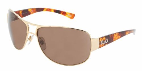 D&G DD6056 069/73 Gold Sunglasses In Metal