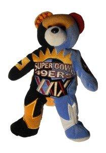 San Francisco 49ers Super Bowl XXIX Champions Bear