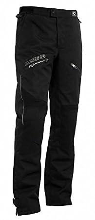 Bering Moto Flux Pantalon Noir - Noir, 2XL