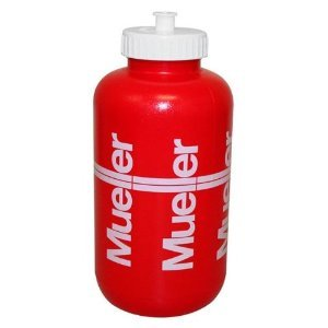 Mueller Sports Medicine Squeeze Quart Water Bottle-Football-Lacrosse-Basketball