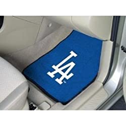 - 	 LA Dodgers Floor Mat.