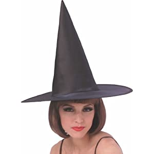 Satin Witch Adult Hat Halloween Costume Accessory from Rubies