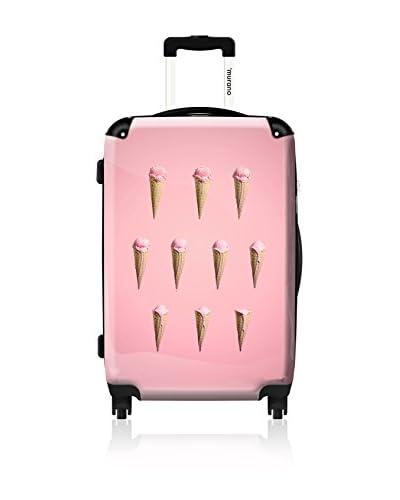 ikase Strawberry Ice Cream 24 Hardcase, Pink