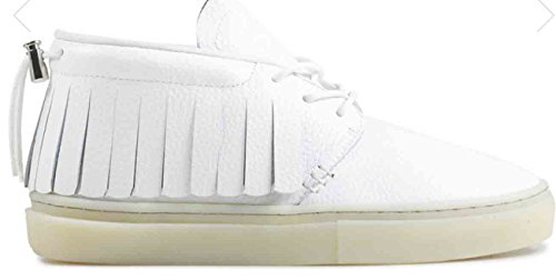 Clear Weather One-o-one In White Leather Ice Size 6.5 US
