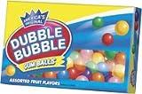 Dubble Bubble Gumballs (Refill Carton)- 1 Box (567 Gram)