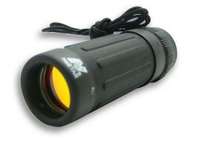 8X21 Black Monocular/Ruby Lens