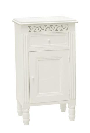 WHITE PAINTED POT CUPBOARD