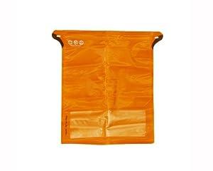 Pacific Outdoor Equipment Pneumo Zip Jumbo Bag (Solar Orange, 14 x 16- Inch)