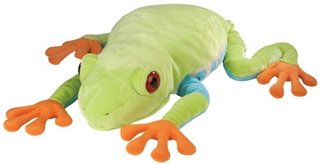 Red Eye Tree Frog 30in Plush Toy by Wild Republic (82333) - Buy Red Eye Tree Frog 30in Plush Toy by Wild Republic (82333) - Purchase Red Eye Tree Frog 30in Plush Toy by Wild Republic (82333) (K & M, Toys & Games,Categories,Stuffed Animals & Toys,More Stuffed Toys)
