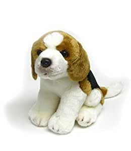 "Amazon.com: Beagle Sitting Puppy 10"" by Fuzzy Town: Toys"