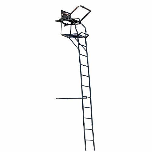 Big Game The Next Generation Stealth Deluxe Ladder Stand, Black