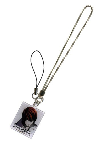 Death Note - Light phone charm portachiavi US Import original SPEDIZIONE GRATUITA