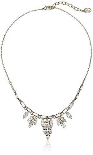 Ben-Amun Jewelry Three Crystal Delicate Pendant Necklace