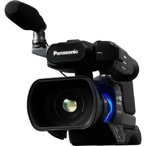 Panasonic AG-AC8PJ Shoulder Mount Video Camera with 3-Inch LCD (Black)