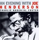 AN EVENING WITH JOE ANDERSON / JOE HENDERSON