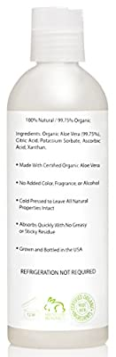 Best Cheap Deal for Amara Organics Aloe Vera Gel from Organic Cold Pressed Aloe, 8 fl. oz. from Amara Organics - Free 2 Day Shipping Available