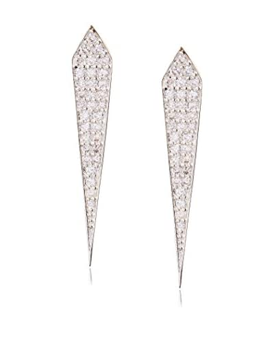 Chloe & Theodora Pave Chevron Earring