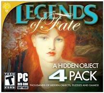 Legends Of Fate: A Hidden Object, 4 Pack