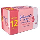 Johnson & Johnson Johnson's Baby Skincare Wipes - 768 CT (Fragrance Free) Baby, NewBorn, Children, Kid, Infant