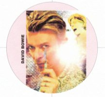David Bowie Will Cut You! - Refrigerator Magnet