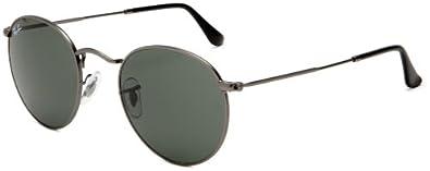 Amazon.com: Ray-Ban ORB3447 029 Round Sunglasses,Gunmetal