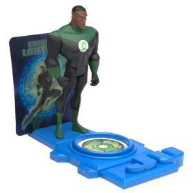 Justice League Green Lantern with Collectible Stand - 1