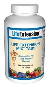 Life Extension Mix 315 Tabs Life Extension Mix Tabs 315 Tablets Giant Size Bottle From The Life Extension Foundation. Lef Has A 27 Year History Of Introducing Life Saving Medical Discoveries And Funding Scientific Research.