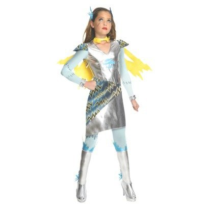 Rubies Monster High Frankie Stein Girl's Size Large (12/14) Costume; Dress-up