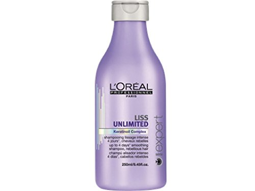 L oreal Liss Unlimited Keratinoil Complex Smoothing Shampoo 8.45 oz ( Pack of 1)