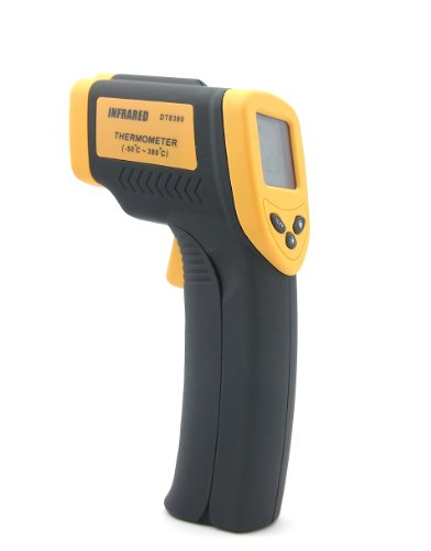 HDE Temperature Gun Infrared Thermometer w/ Laser