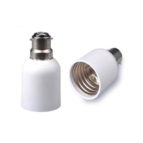B22zu E40Lampe Lampe Fassung Sockel Konverter Adapter, Edison-Schraube, Bajonett