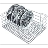 Now & Ever Stainless Steel Kitchen Dish Rack , 15x20x8 Inches, Silver, 1-piece