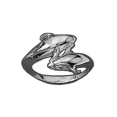 Child Sterling Silver Dolphin Ring