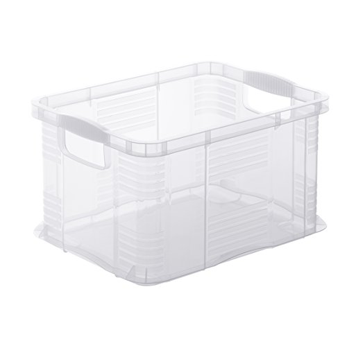 """7932096000 Aufbewahrungsbox Systembox """"Agilo"""" aus Kunststoff, Format A5, Inhalt 6 l, ca. 29x19x15.5 cm (LxBxH), transparent"""