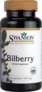 Swanson Bilberry Fruit 470mg, 100 Capsules