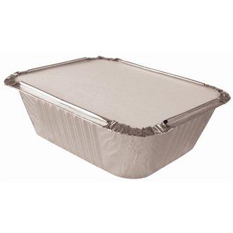 Film couvercles à interne sur le dessus de la planche rectangulaire en aluminium boîtes boîtes (vendu séparément) Qté 1000