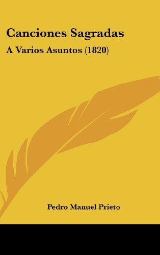 Canciones Sagradas: A Varios Asuntos (1820)